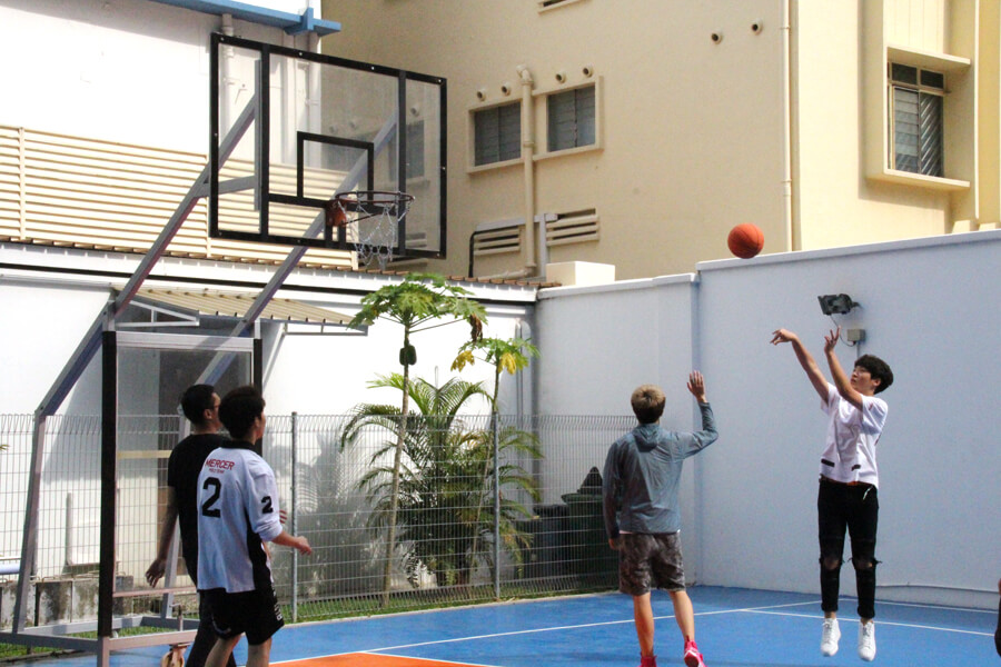 Basketball Court Opening Ceremony