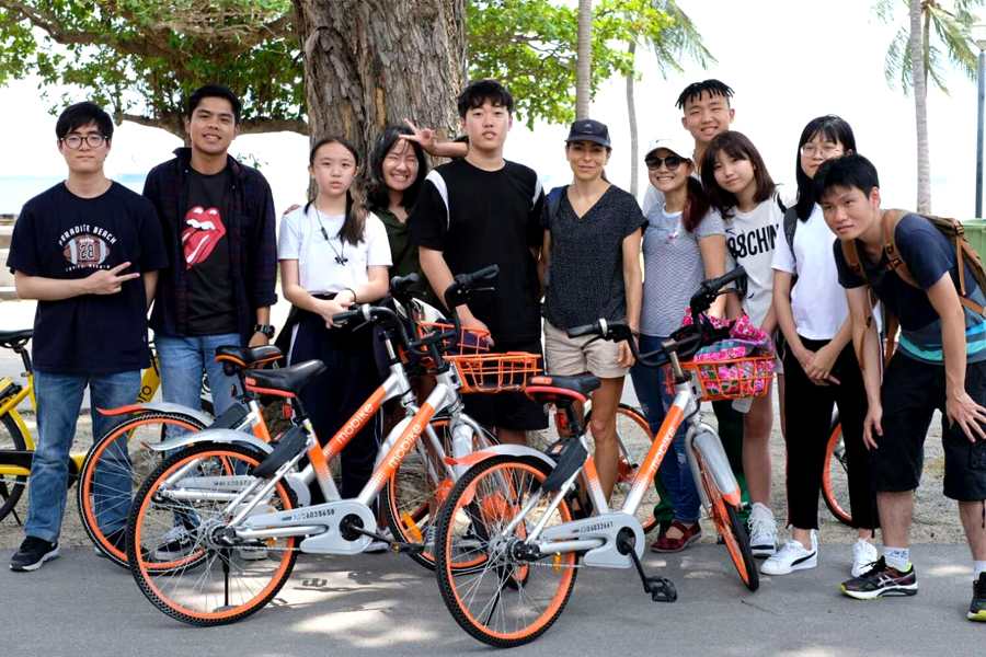 Biker Gang @ TMC Excursion to East Coast Park