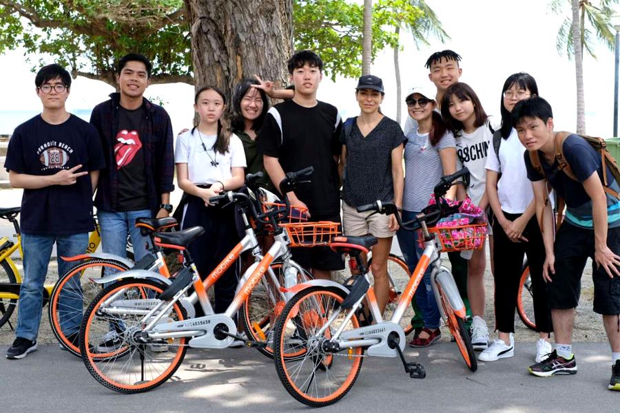 Biker Gang @ TMC Excursion to East Coast Park