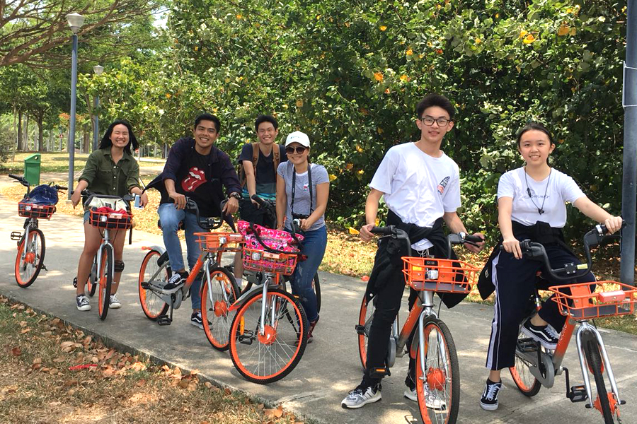 Best Way to Travel @ TMC Excursion to East Coast Park