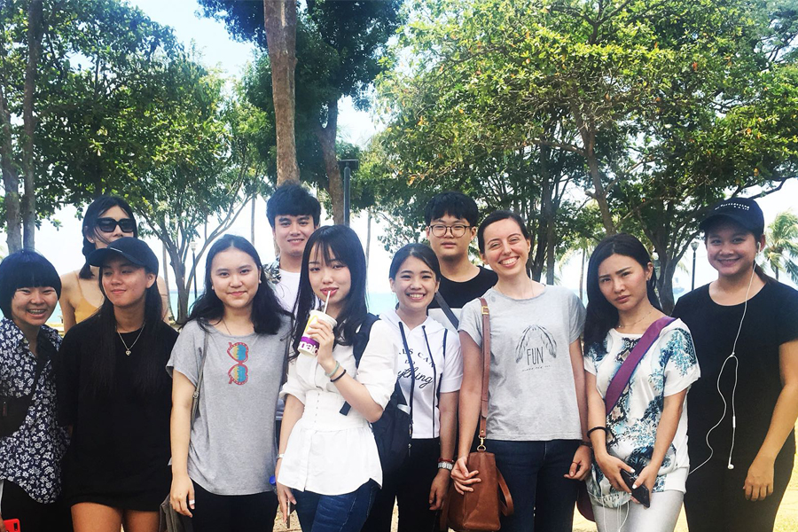 Group Photo @ TMC Excursion to East Coast Park