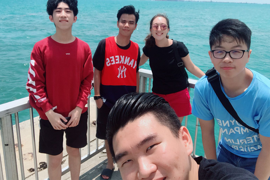 Selfie by the Sea 2 @ TMC Excursion to East Coast Park