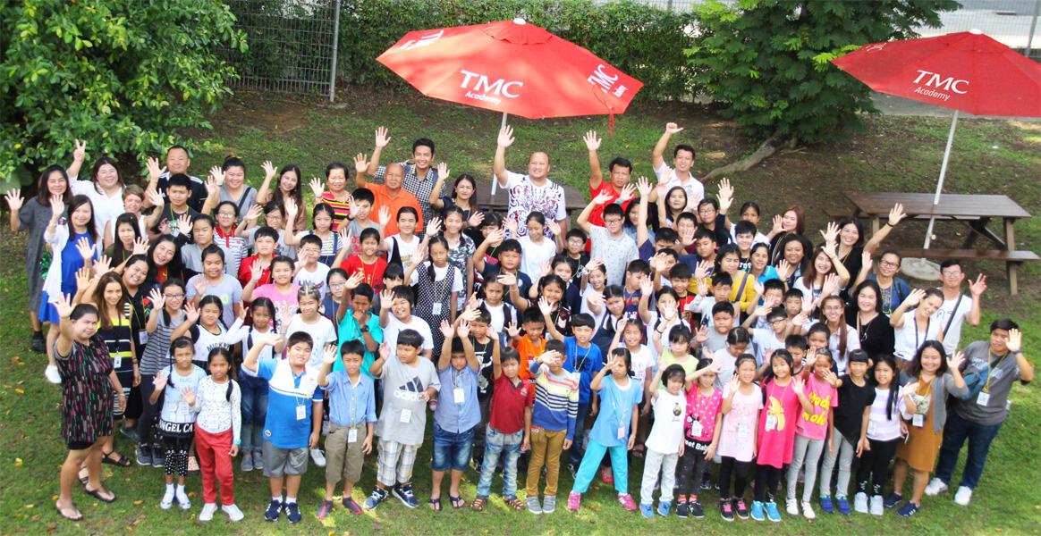 TMC welcomes Thai Elementary School Students on Summer Holiday English Programme
