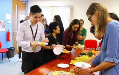 TMC Academy Fruits Sharing Day!