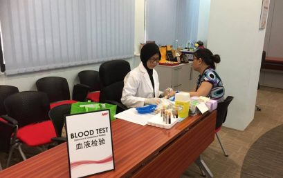 On-Site Complimentary health screening 22 July 2015