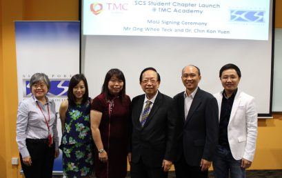 TMC-SCS Student Chapter Launch
