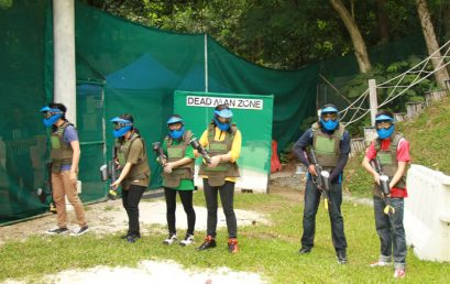 Student Club – Paintball Game