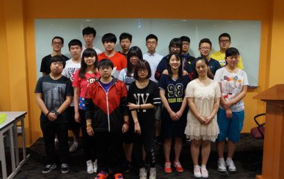 Student Visit from Beijing, China