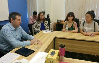 Monash Representative Visit to TMC Academy