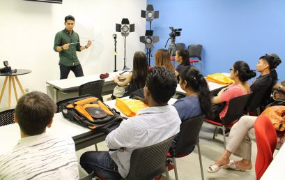 The basics of Digital Photography Workshop by Mr Aaron Rao