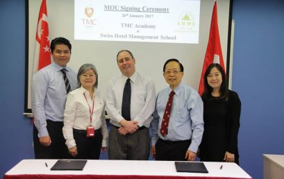 MOU with Swiss Hotel Management School (SHMS)