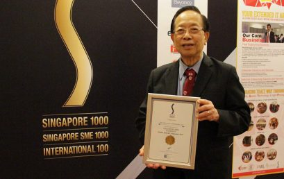 TMC Academy clinched the Singapore 1000 Award