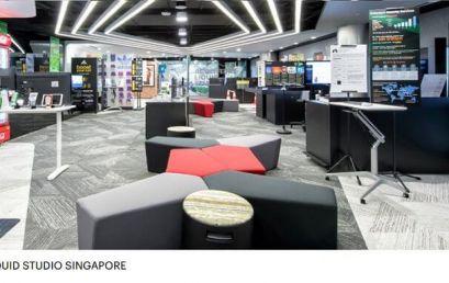 Student Visit to Accenture Liquid Studio, Singapore