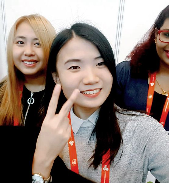 IPRS Student Chapter Members Volunteer at TechInnovation 2017