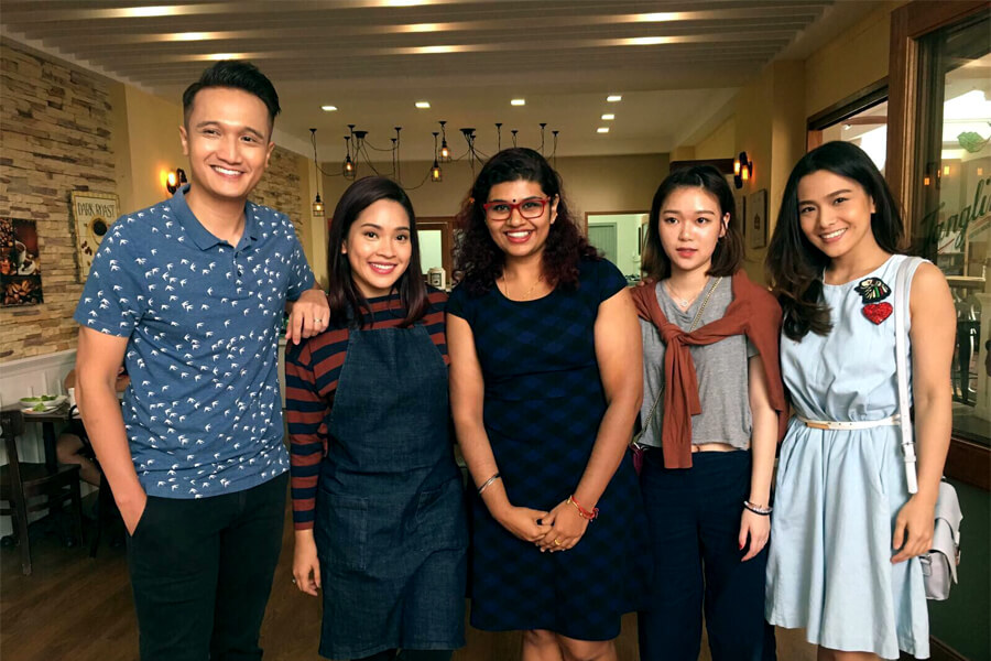"A trip to Mediacorp Studios for Local Drama ""Tanglin"" Film Set"