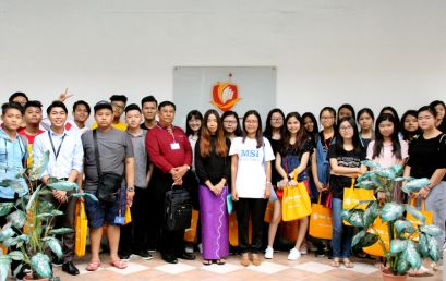 Myanmar Students Visit