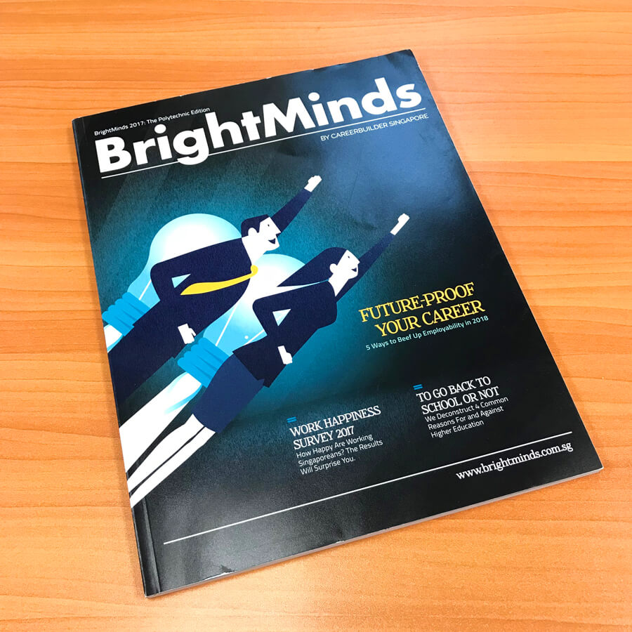 TMC Academy Students Feature in BrightMinds Magazine 2017