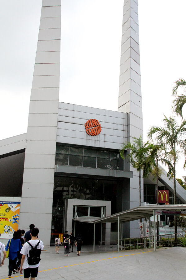 Student Orientation at the Science Centre Singapore