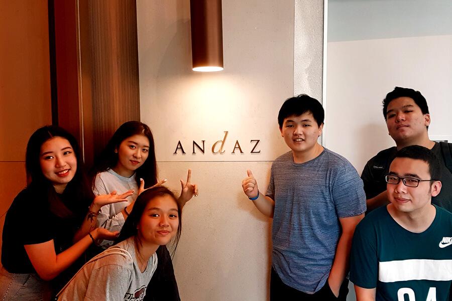 Andaz Hotel Lobby
