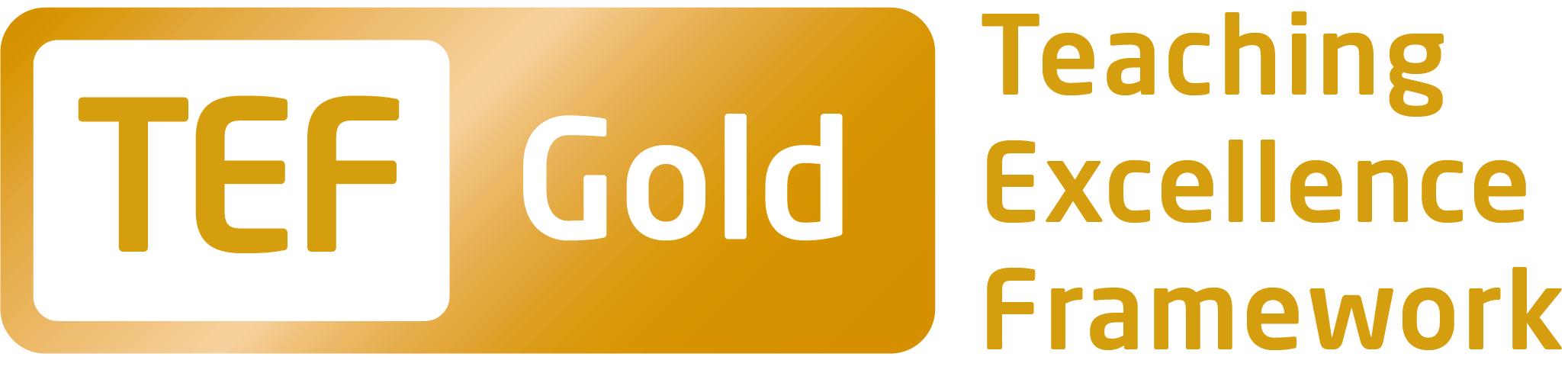 TEF Gold Logo For University of Northampton @ TMC Academy