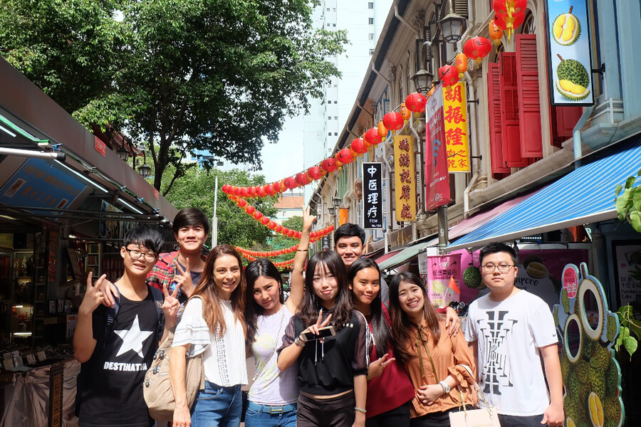 TMC Academy Hawthorn Excursion @ Chinatown Singapore