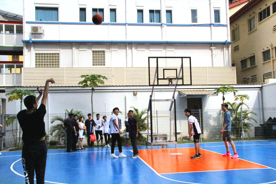 Basketball Court @ TMC Academy