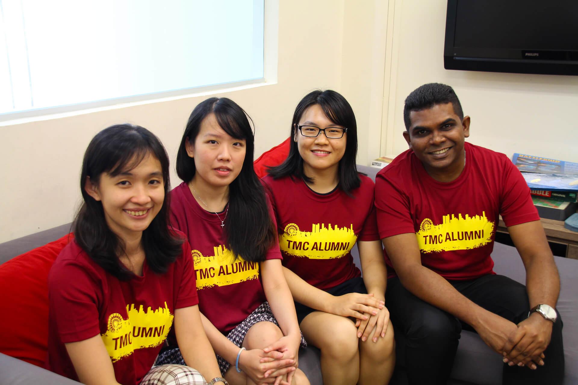 TMC Alumni Committee Members Group Photo