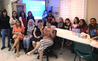Psychology Students Visit the Singapore Association of Mental Health (SAMH)