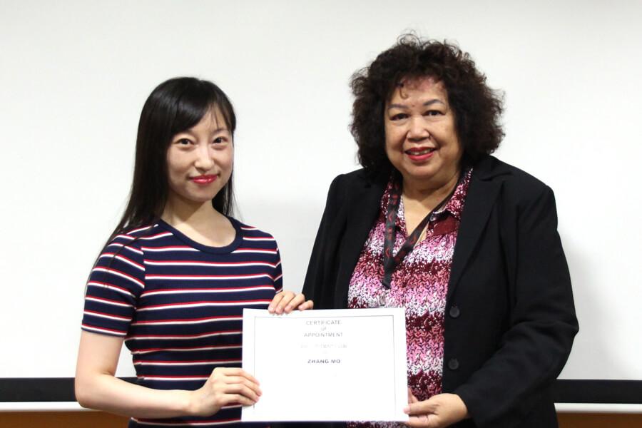 Zhang Mo @ President of TMC Academy Student Club