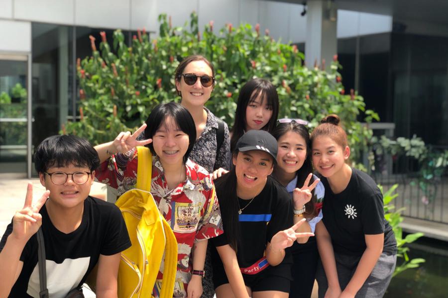 Photo of TMC Hawthorn Student Excursion Trip to Orchard, Singapore