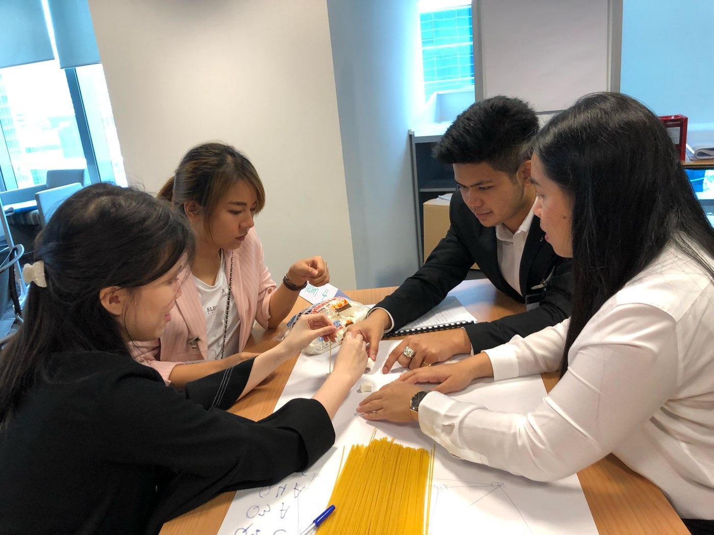 Team Building Activity @ JA Job Shadow