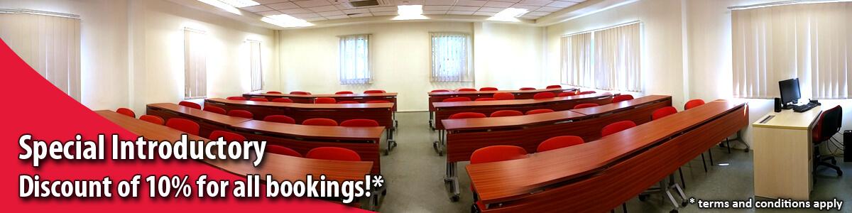 TMC Academy Room Rental Banner