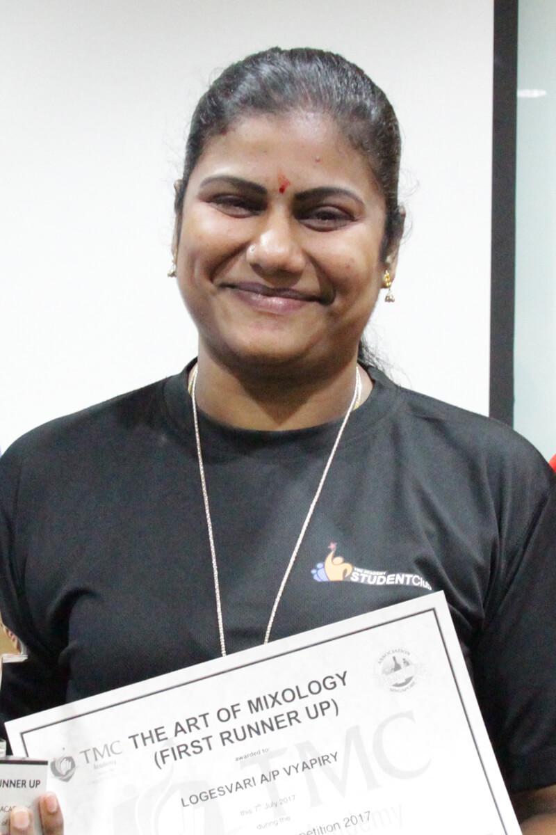 Logesvari TMC Acedemy Student