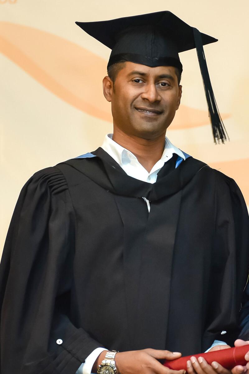 Ravindran TMC Acedemy Student
