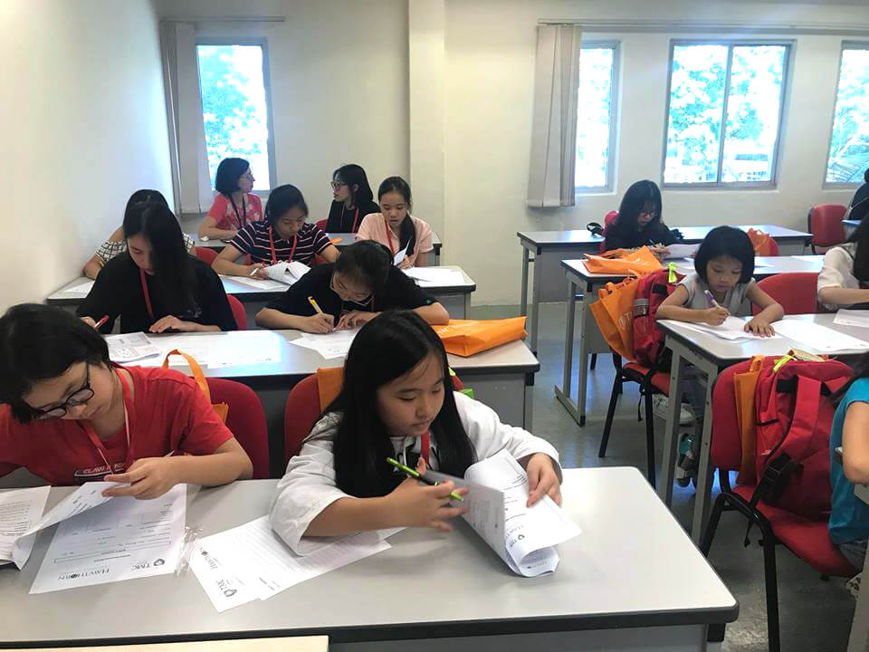 Vietman Student in TMC Holiday English Program Photo Highlights
