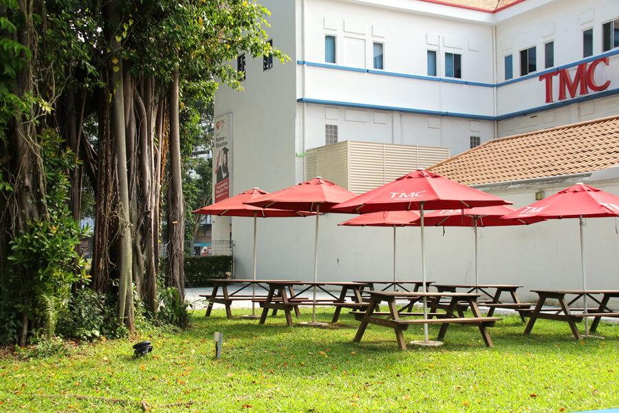 TMC Academy Outdoor Area