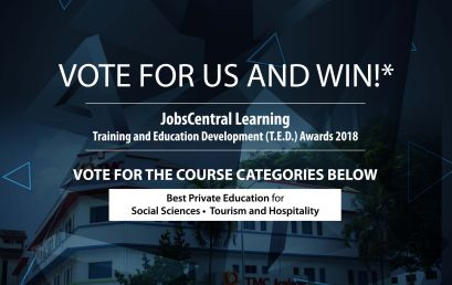 Vote for TMC Academy at JobsCentral Learning T.E.D. Awards 2018