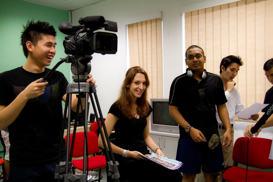 TMC Academy Facilities Mass Communication Studio