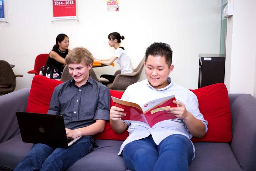 TMC Academy Facilities - Student Lounge