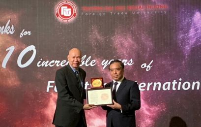 TMC Academy and Foreign Trade University Celebrates International Education Partnership