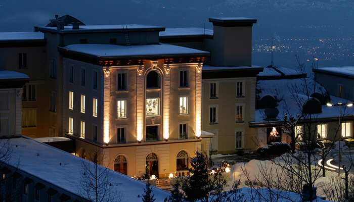 Swiss Hotel Management School Mont Blanc