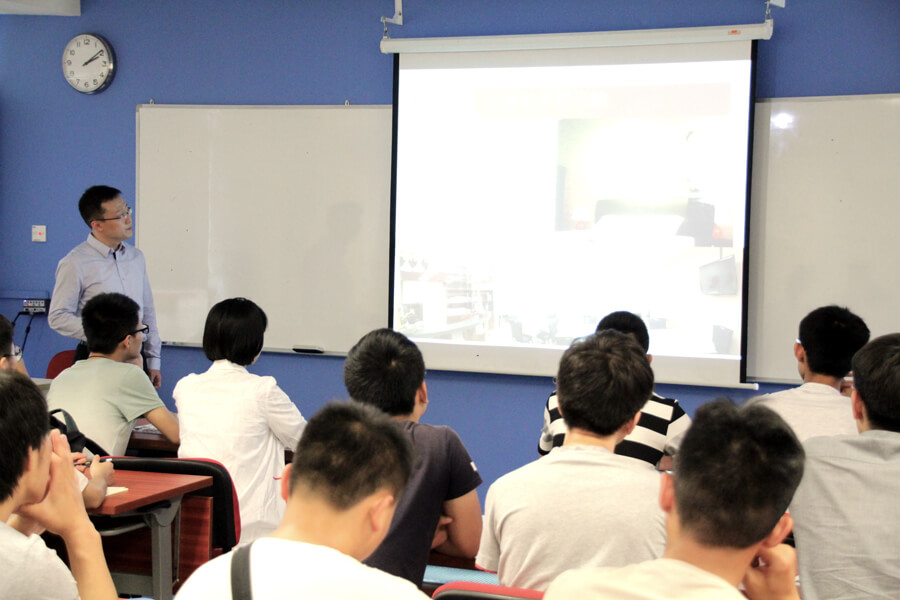 Zhang Qian Share About Singapore - Chang Zhou Vocational Institute of Machatronic Technology visit TMC Academy