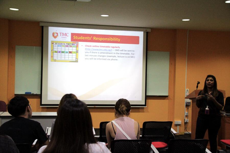 Orientation Briefing - June 2017 Orientation Day @ TMC Academy