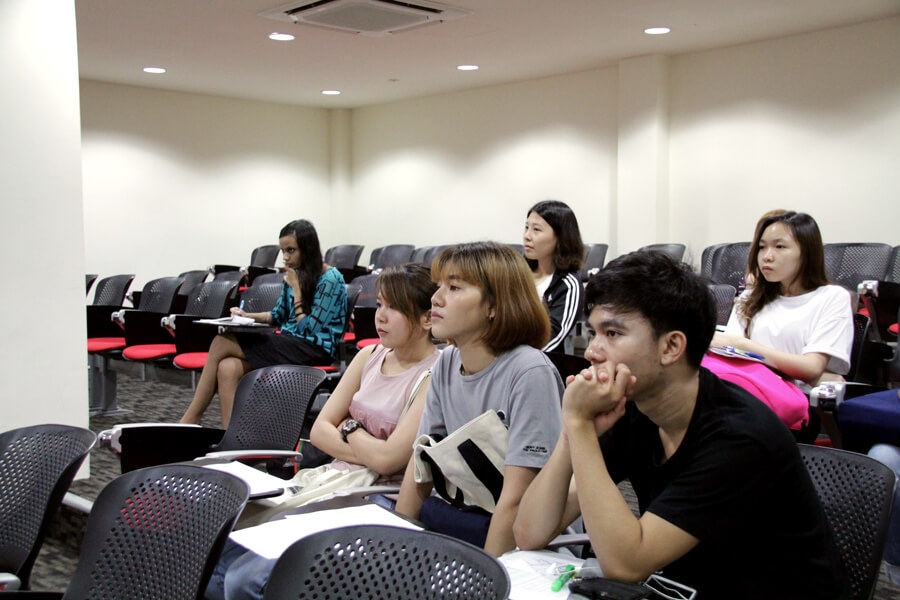New Students in Lecture Hall - June 2017 Orientation Day @ TMC Academy