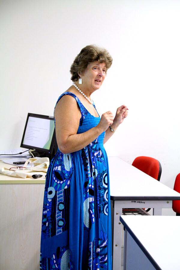Mrs. Douglas From UN Visit TMC